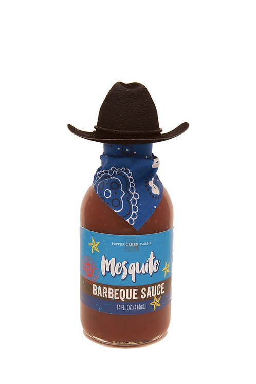 Mesquite BBQ with Cowboy Hat