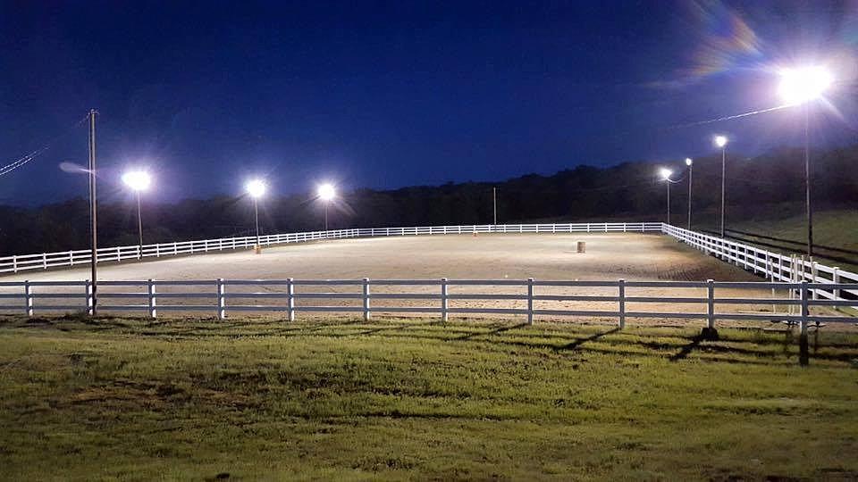 Outdoor Arena Lighting: winningedgestables   WES Outdoor Arena.,Lighting