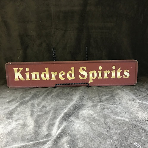 Kindred Spirits Sign