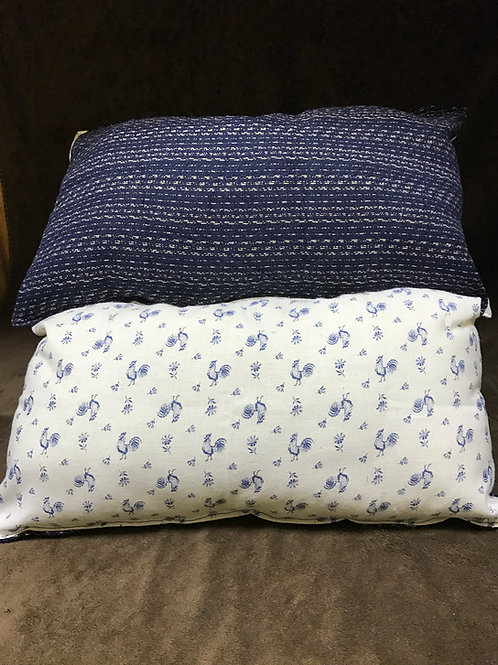 Dark Navy Blue Pillow