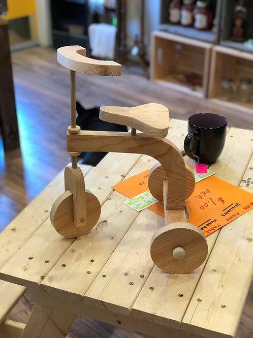 Vintage Style Wooden Trike