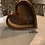 Thumbnail: Handcrafted Wooden Heart Basket