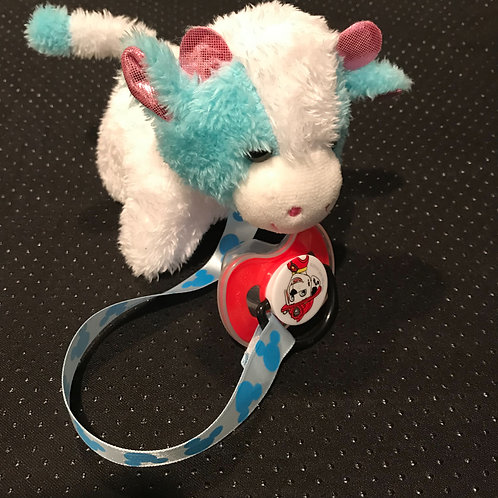 Cow Stuffed Animal With Pacifier