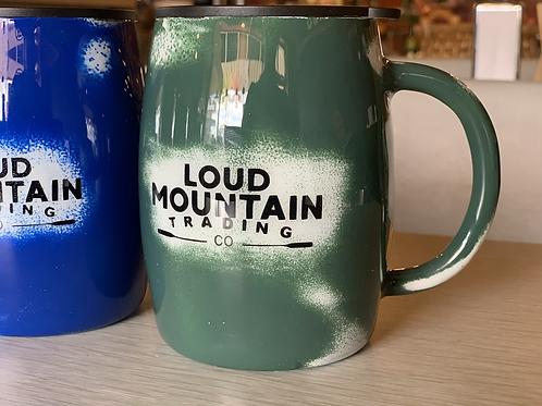 Loud Mountain Coffee Cup w/ Lid