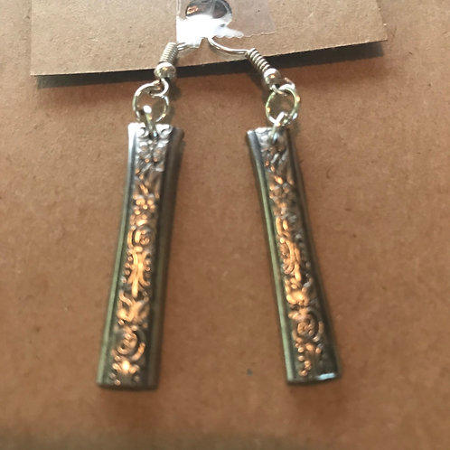 Vintage Silverware Sterling Silver Earrings