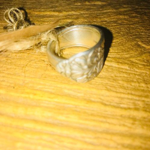 Vintage Silverware Ring Size 8