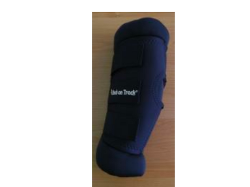 Therapeutic Padded Royal Hock Boots w/holes