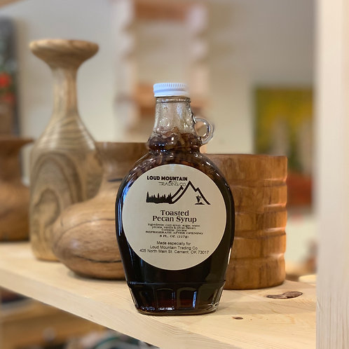 Pecan Toasted Syrup