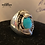 Thumbnail: Turquoise Stone w/ Sterling Silver Size 9