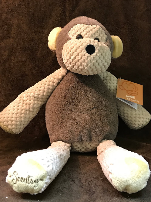 "Scentsy ""Mollie The Monkey"" Stuffed Animal"