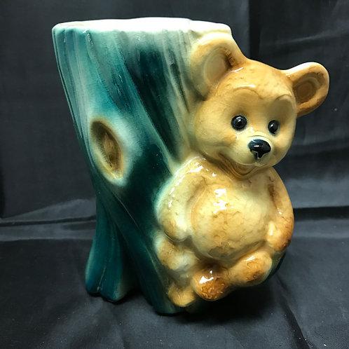 Bear w/Blue Tree