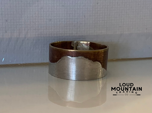 Mountain Scape Ring - Size 7