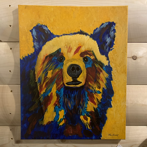 Bear Painting on canvas