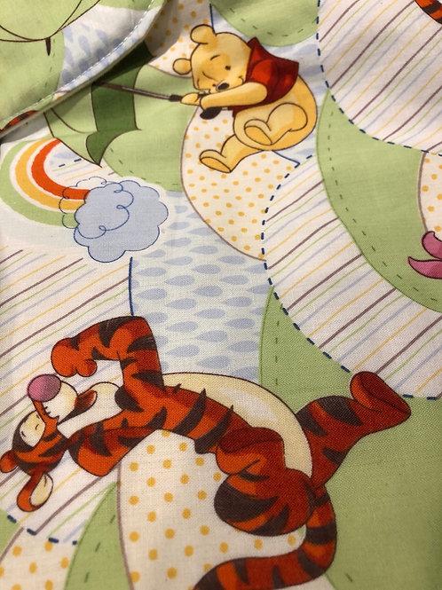 Winnie The Pooh Quilt, Bib & Burp Towel Set