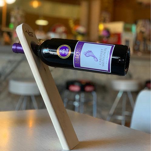 LMA Woden Gravity Wine Bottle Holder