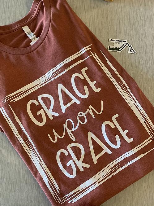 T-Shirt (XL) - Grace Upon Grace