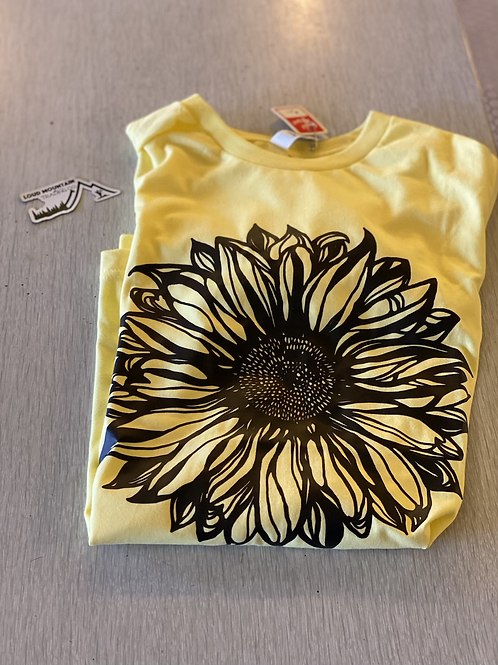 T-Shirt (S) - Sunflower