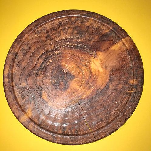 Cedar Wooden Saucer