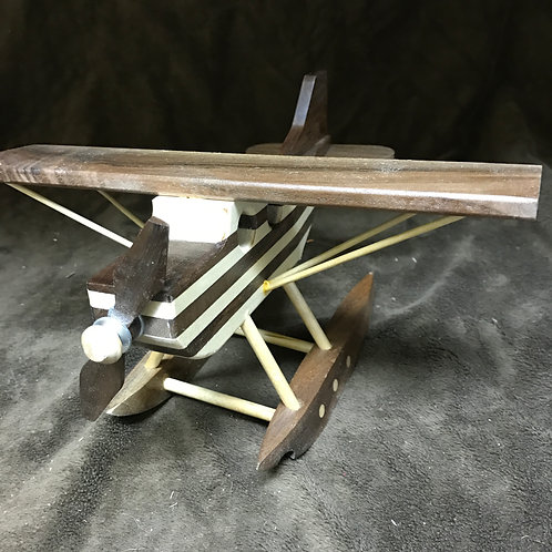 Handcrafted Wooden Airplane