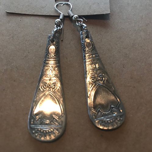Vintage Silverware Sterling Silver Earrings