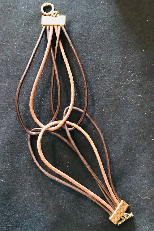 Leather Cord Bracelet