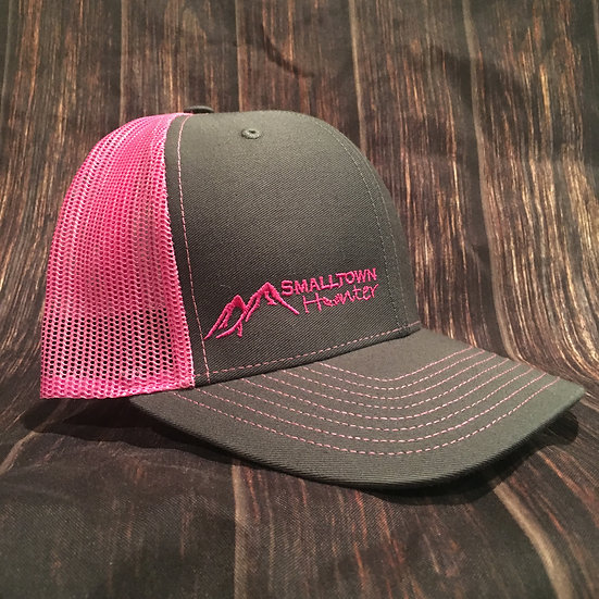 Charcoal/Neon Pink