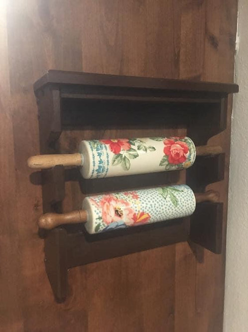 Double Rolling Pin Holder