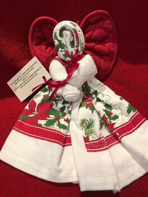 Christmas Kitchen Towel Angel