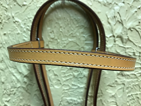 Light Oil Plain Browband Headstall