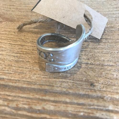 Vintage Silverware Ring Size 10