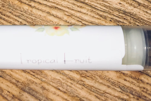 Handmade Organic Lip Balm-Tropical Fruit Flavor