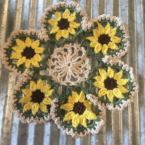 Sunflower Doiles