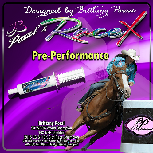 Pozzi's RaceX for Horses