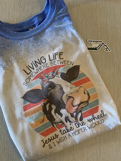 T-Shirt (L) - Living Life