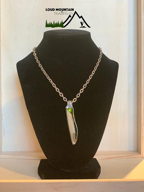 Vintage Silverware Spoon Peas In A Pod Necklace