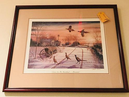 Small Pheasant Print