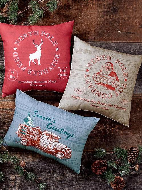 Christmas Throw Pillows