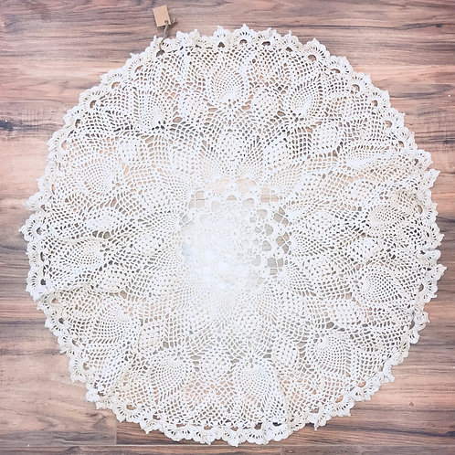 Crocheted Large Doilie