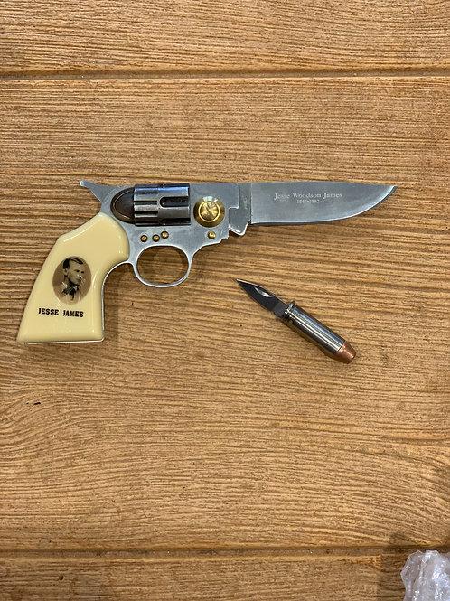 Outlaw Jesse James Collectors Knife Set