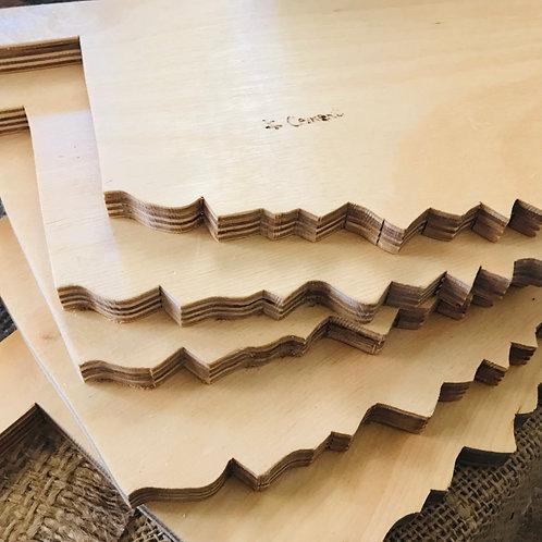 """Cement"" Oklahoma Pine Cutting Board"