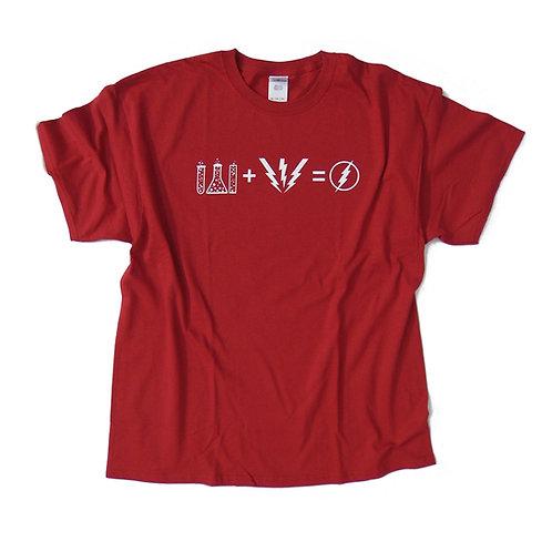 FLASH Formula - The Big Bang Theory - Sheldon inspired T shirt - 100% Cotton