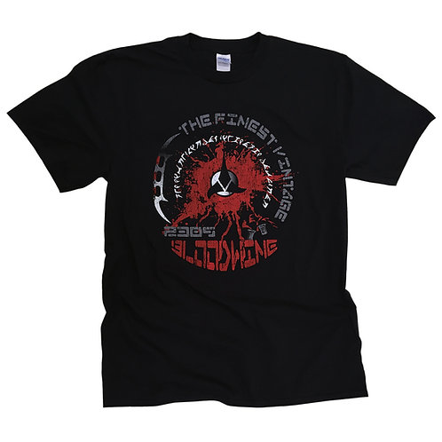 BLOODWINE - Star Trek Klingon inspired T Shirt > S - 5XL > Distressed design