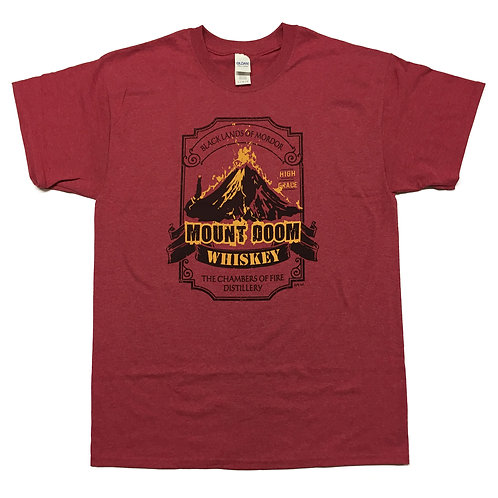 "Lord of the Rings inspired T-shirt ""Mount Doom"" S - 2XL"