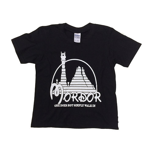 S - XL > LORD of the RINGS - Parody of Mordor and Disneyland KIDS T-shirt