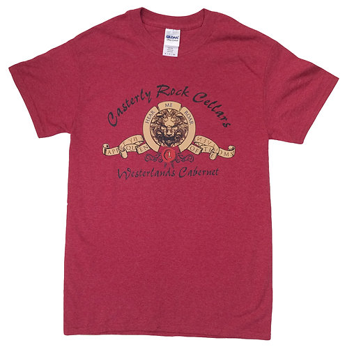 CASTERLY ROCK CELLARS - WESTERLANDS CABERNET G.O.T INSPIRED T-SHIRT DESIGN