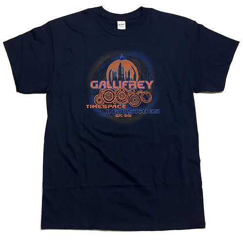 Dr Who inspired T-Shirt Gallifrey Timespace Industries S-3XL available
