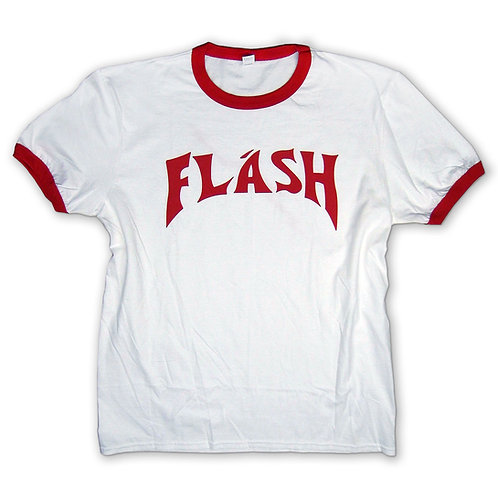 FLASH & LIGHTNING BOLT back print tee - Flash Gordon T-shirt in sizes S - 2XL