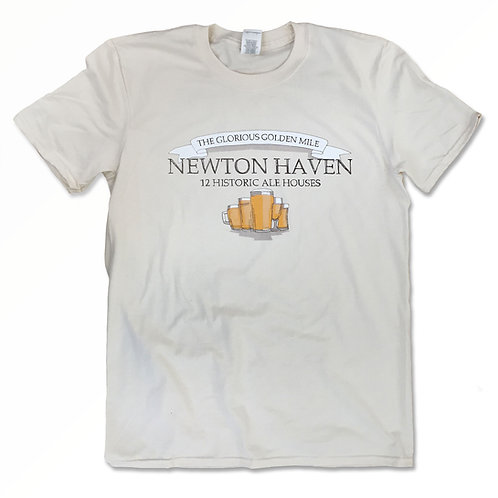 "Cornetto Trilogy World's End inspired T-Shirt ""Golden Mile Newton Haven"" S - 2XL"