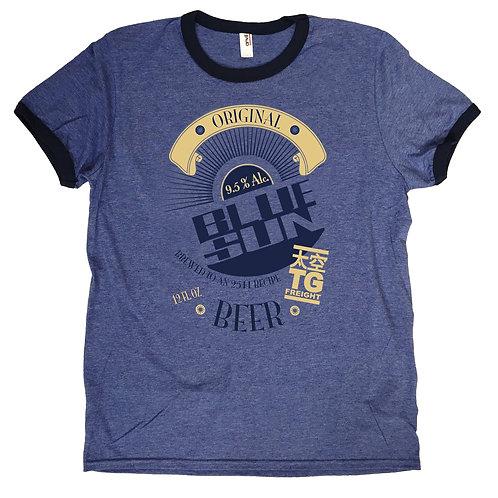 """Fireflyinspired T-shirt""""Blue Sun Beer"""" S - 2XL"""