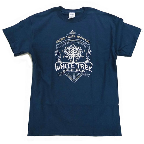 "S - 5XL > TOLKIEN ""Lord of the rings"" inspired T-Shirt > White Tree Pale Ale"